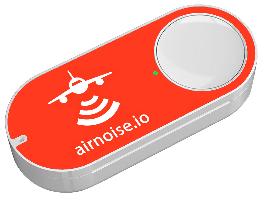 Airnoise button transparent